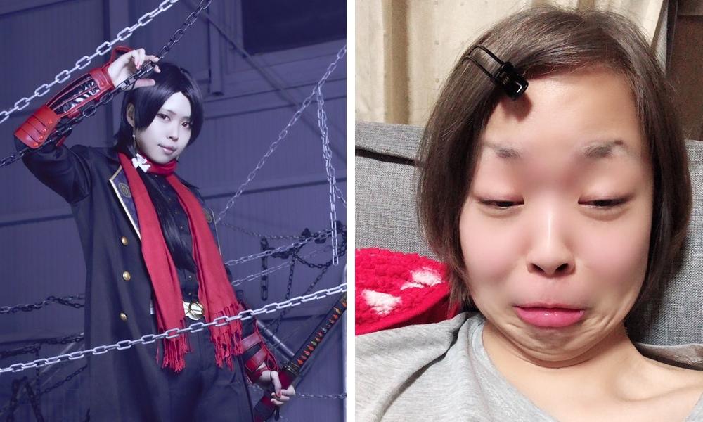 dafszgdxhfycjgvukhil - Японские косплееры устроили флешмоб и показали, как выглядят в образе и в обычной жизни