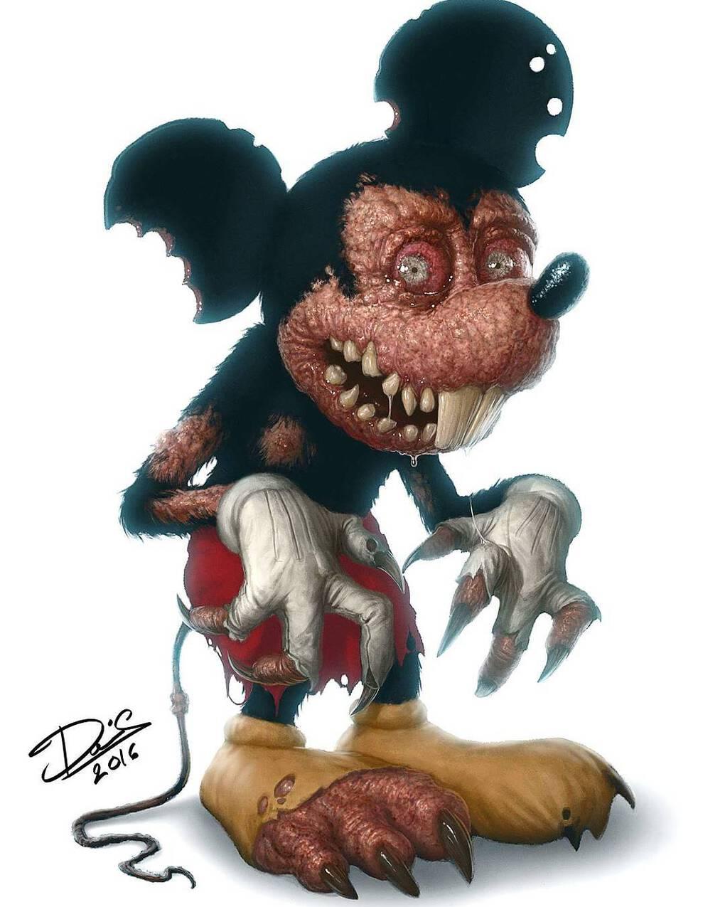 dctattoo swe 15535327 448981322157445 5230801224818753536 n - Шведский татуировщик представил, как выглядели бы добрые герои мультиков, будь они жуткими монстрами