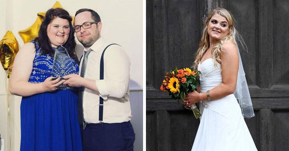 Невеста хотела выглядеть красиво на своей свадьбе. 4 месяца и 30 килограммов спустя её не узнать!