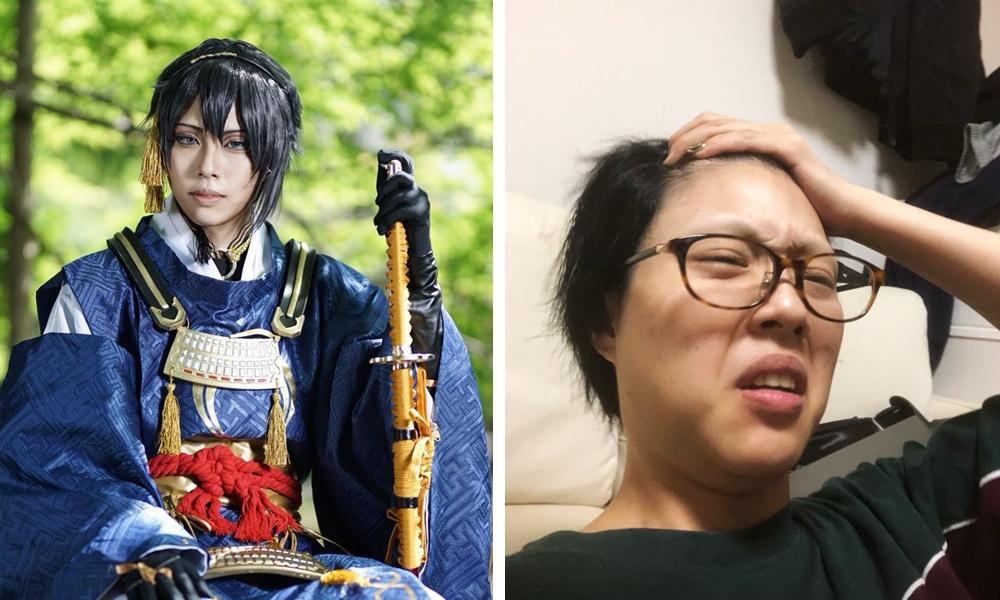 fvayyapvrasopl - Японские косплееры устроили флешмоб и показали, как выглядят в образе и в обычной жизни