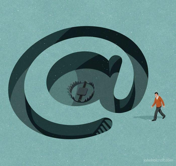 john holcroft 13 5d073d94183a4  700 - 28 злободневных иллюстраций, которые кричат о проблемах современного общества