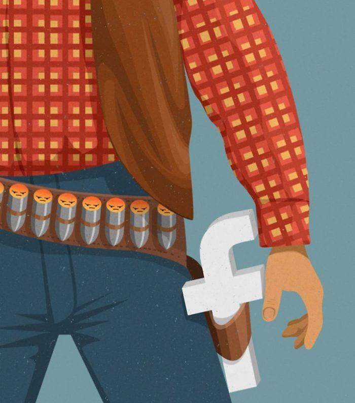 john holcroft 17 5d073d9de1c09  700 - 28 злободневных иллюстраций, которые кричат о проблемах современного общества