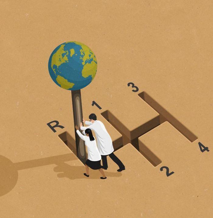 john holcroft 26 5d073dafdd1b3  700 - 28 злободневных иллюстраций, которые кричат о проблемах современного общества