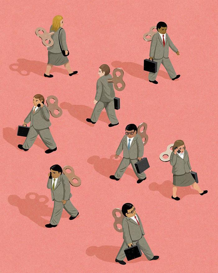 john holcroft 29 5d073dc41b82f  700 - 28 злободневных иллюстраций, которые кричат о проблемах современного общества