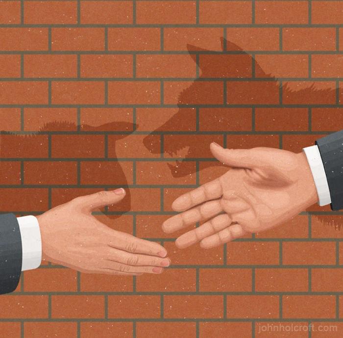 john holcroft 35 5d073dcf3f14e  700 - 28 злободневных иллюстраций, которые кричат о проблемах современного общества