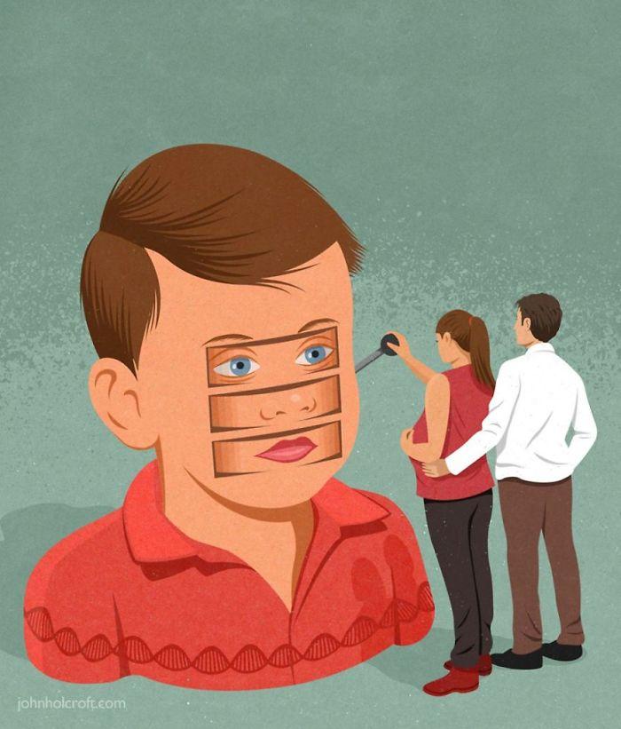 john holcroft 39 5d073dd758060  700 - 28 злободневных иллюстраций, которые кричат о проблемах современного общества