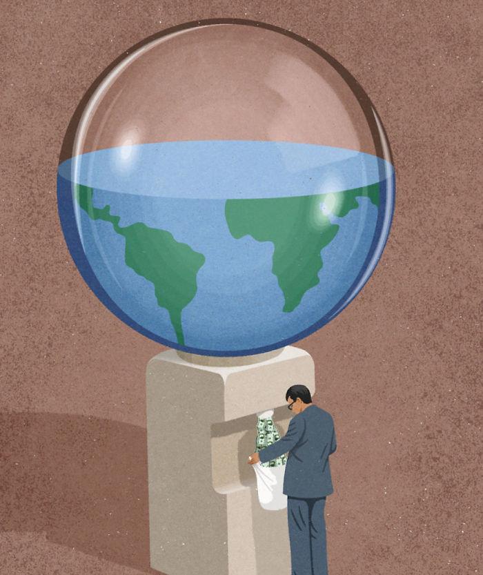 john holcroft 55 5d073df548f0b  700 - 28 злободневных иллюстраций, которые кричат о проблемах современного общества