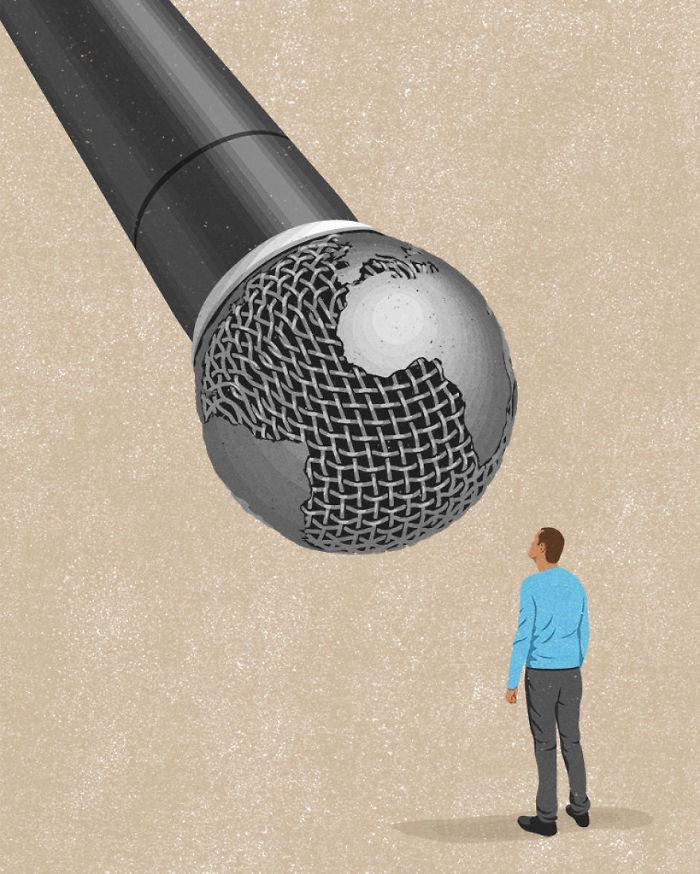 john holcroft 57 5d073dfaa1245  700 - 28 злободневных иллюстраций, которые кричат о проблемах современного общества