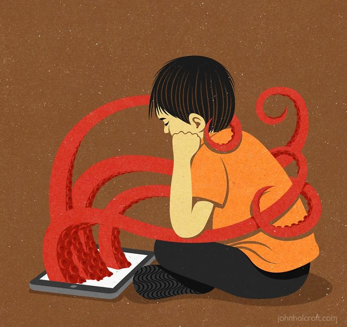 john holcroft 8 5d073d8732b51  700 - 28 злободневных иллюстраций, которые кричат о проблемах современного общества