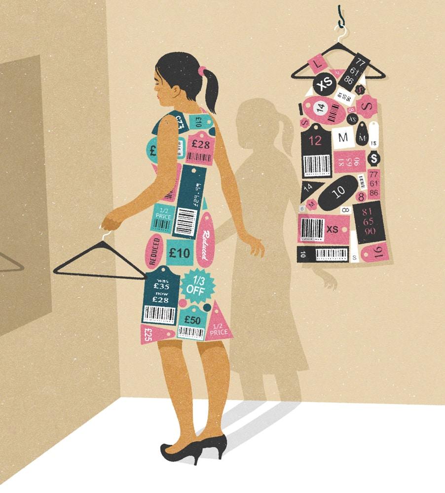 john holcroft label woman - 28 злободневных иллюстраций, которые кричат о проблемах современного общества