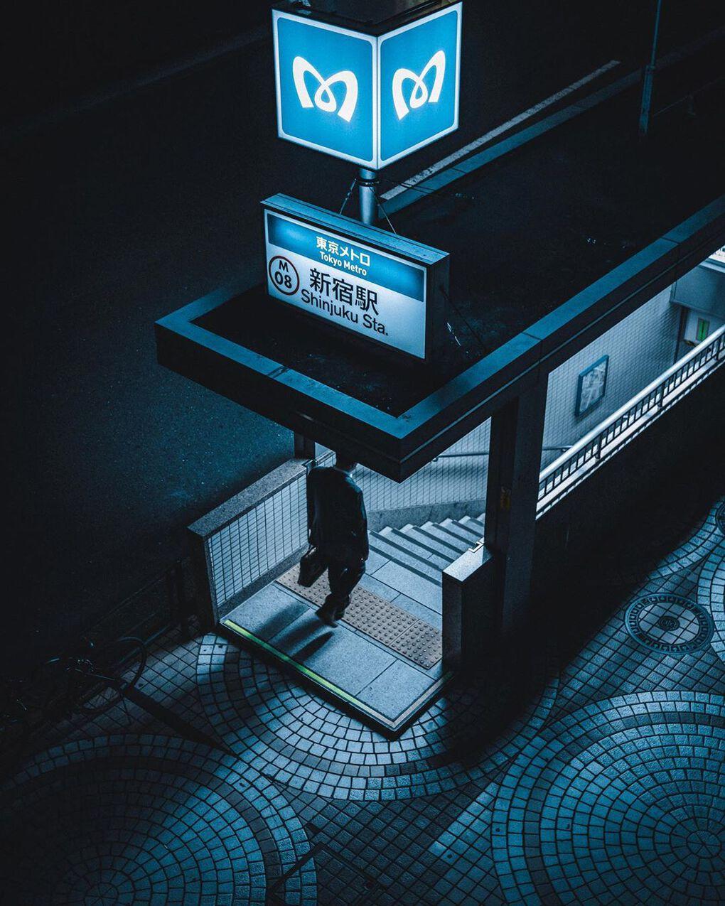 jungraphy 60932771 2361968393897880 8924320202328993152 n - 25 работ фотографа из Токио, которые погрузят вас в магическую атмосферу ночных японских улиц