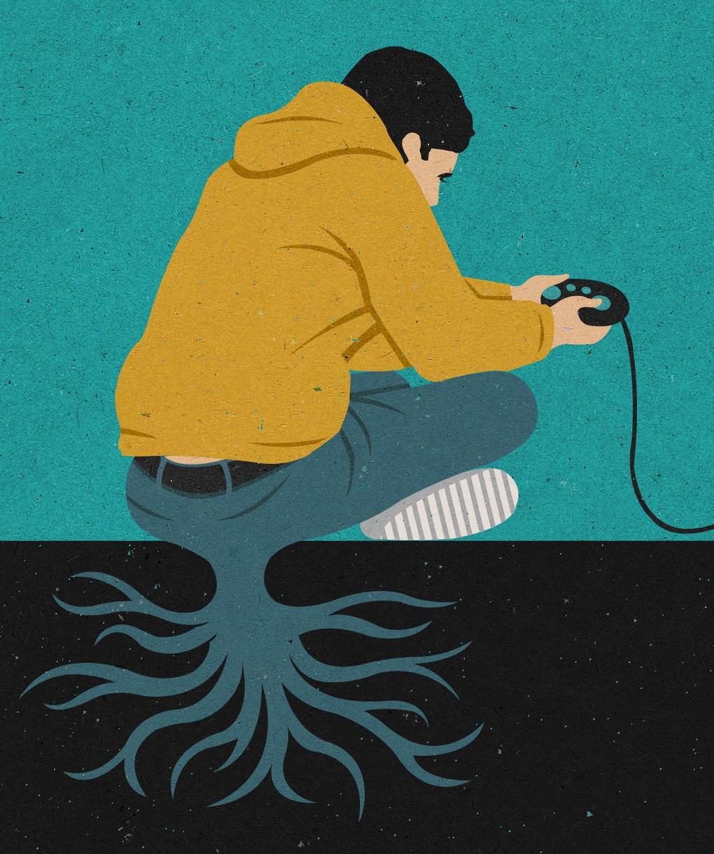 lazy lad alt - 28 злободневных иллюстраций, которые кричат о проблемах современного общества