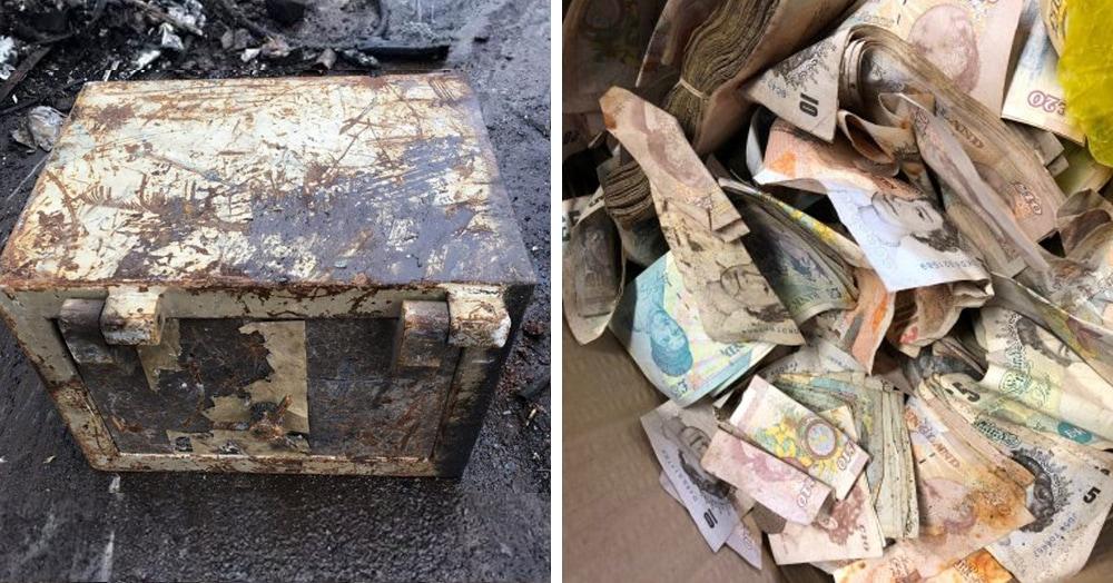 В металлолом сдали старый сейф, в котором был сюрприз. Таких дорогих ящиков там ещё не распиливали