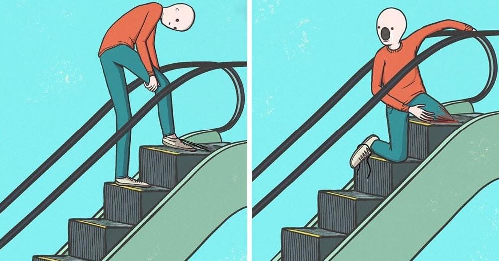 Американский художник рисует комиксы, которые шокируют и пугают, но посмотреть их всё равно хочется
