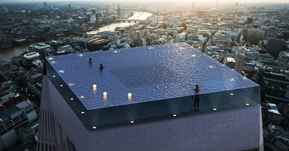 «Как туда попасть?»: компания показала полностью прозрачный бассейн, но к идее есть пара вопросов