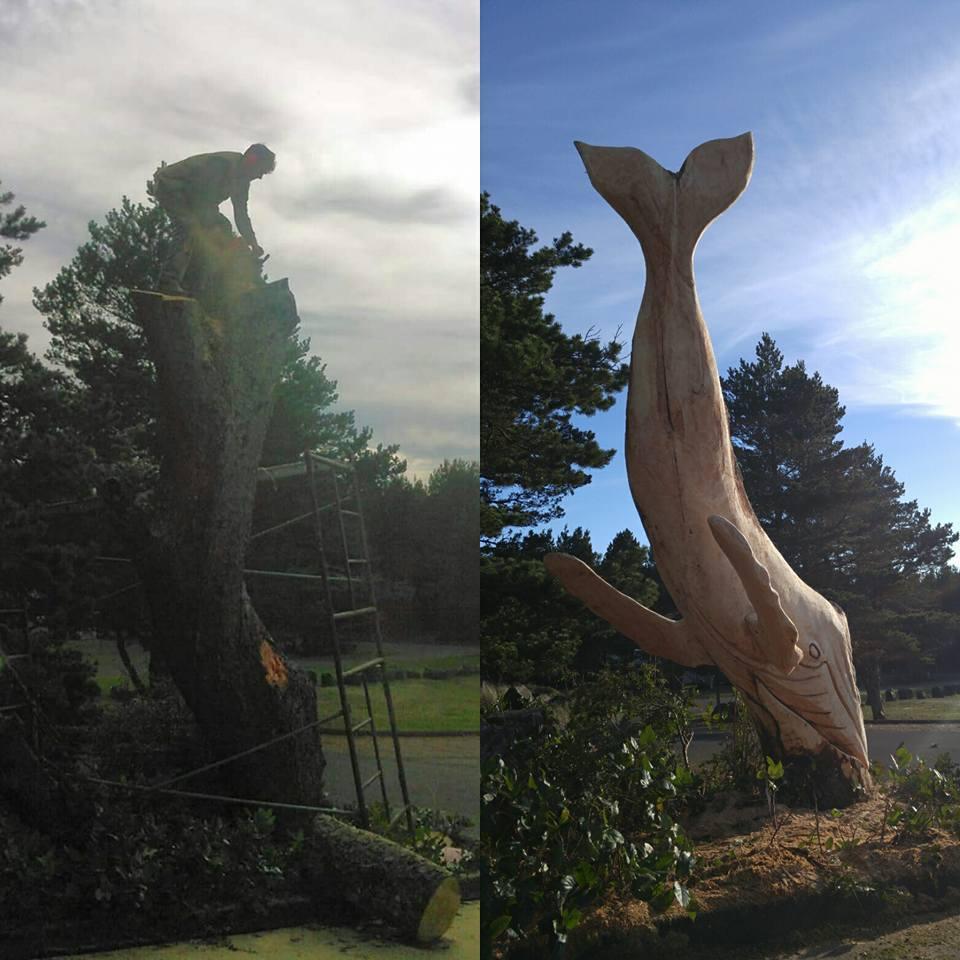 12688168 986199994801485 1137399434914706725 n - Художник из Вашингтона создаёт скульптуры из сухих деревяшек, от которых дух захватывает