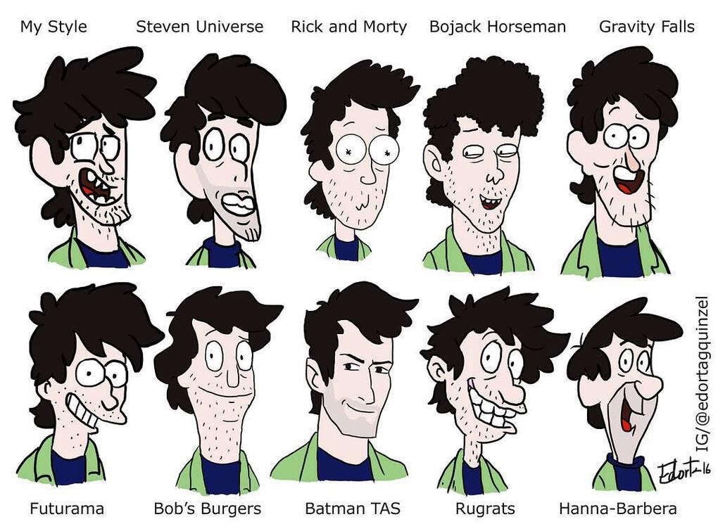 13743182 311902815866645 787181299 n - Художники рисуют себя в знаменитых анимационных стилях и публикуют результаты в соцсетях