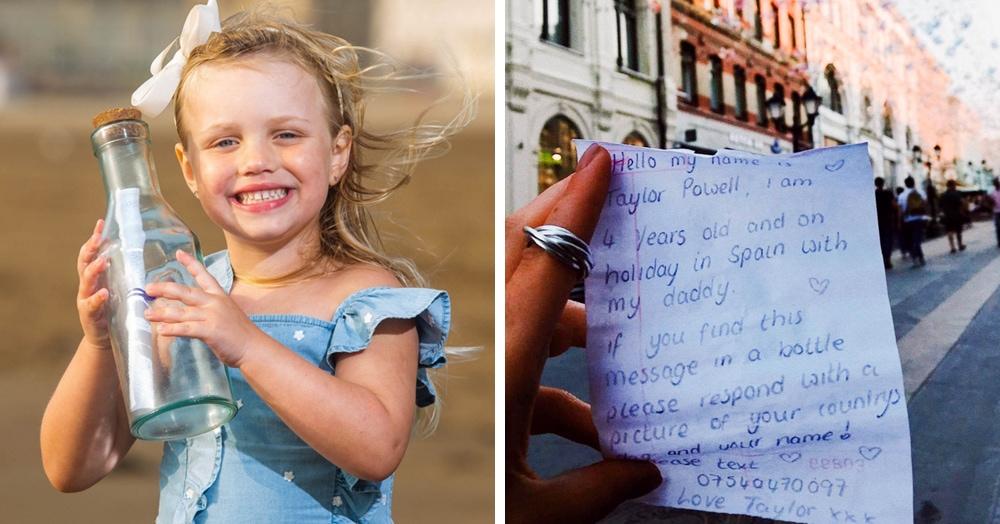 Девочка бросила в море бутылку с письмом в Испании и вряд ли ожидала, что ей ответят. Из Москвы