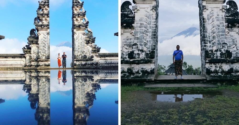 Люди без ума от фоток на фоне озера в храме на Бали. Оказалось, оно существует только в Инстаграме