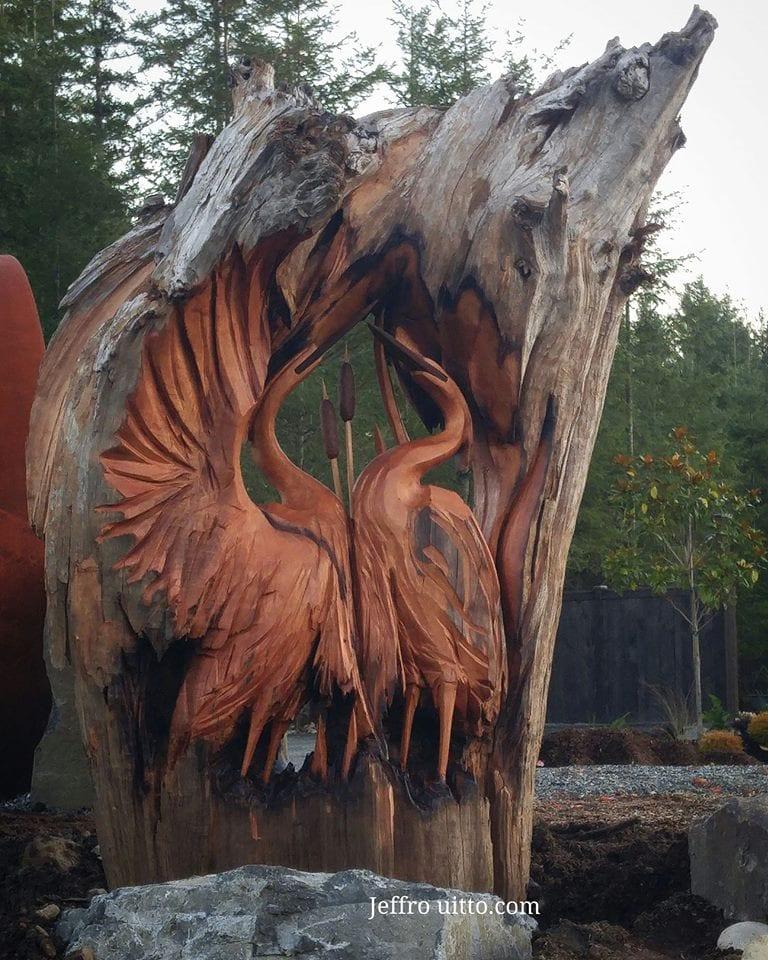 22814444 1526656247422521 4922056800829773414 n - Художник из Вашингтона создаёт скульптуры из сухих деревяшек, от которых дух захватывает