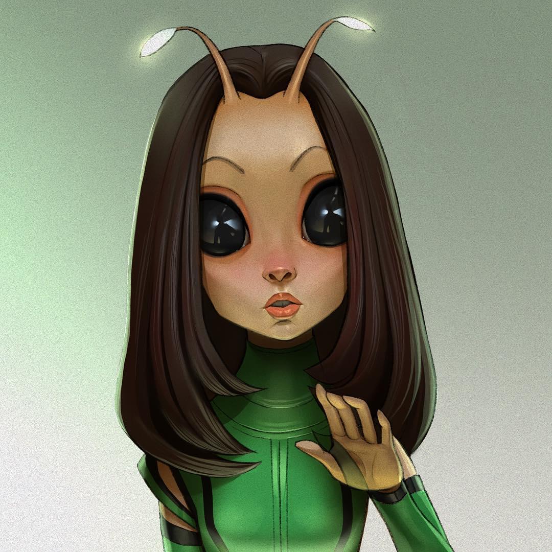 29404386 438635829923085 2170719794733514752 n - 20 героев вселенной Марвел, которых талантливый художник превратил в яркие карикатуры