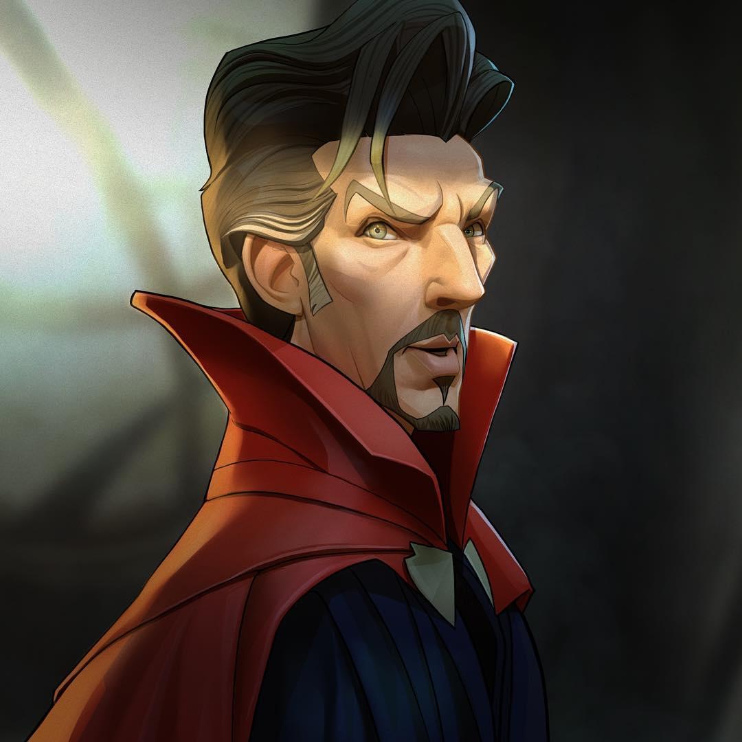 29417522 438244393278651 1190476513959477248 n - 20 героев вселенной Марвел, которых талантливый художник превратил в яркие карикатуры