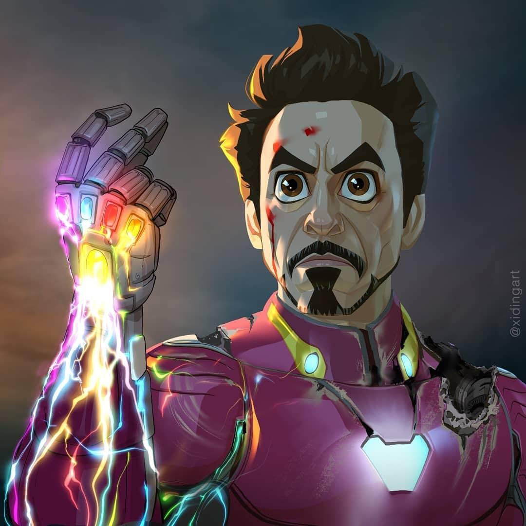 59373899 432520404246366 9180236672688811710 n - 20 героев вселенной Марвел, которых талантливый художник превратил в яркие карикатуры