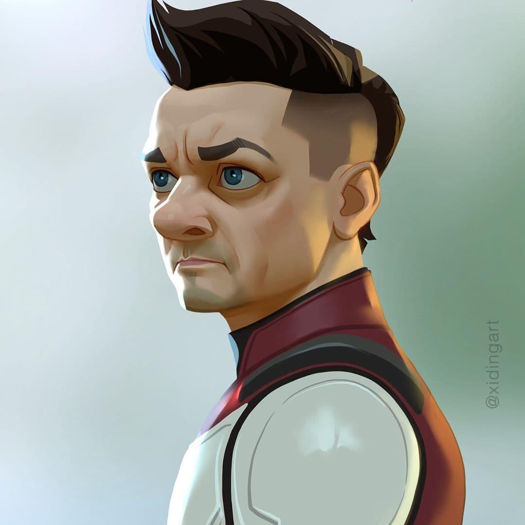 59506205 1234476980047988 1823236872866475814 n - 20 героев вселенной Марвел, которых талантливый художник превратил в яркие карикатуры