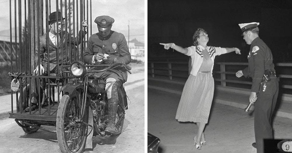 17 фотографий из полицейских архивов США, где запечатлена работа стражей порядка в начале 20 века
