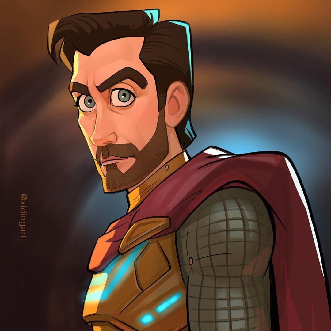 64819627 384141055785056 6394446101335100569 n - 20 героев вселенной Марвел, которых талантливый художник превратил в яркие карикатуры