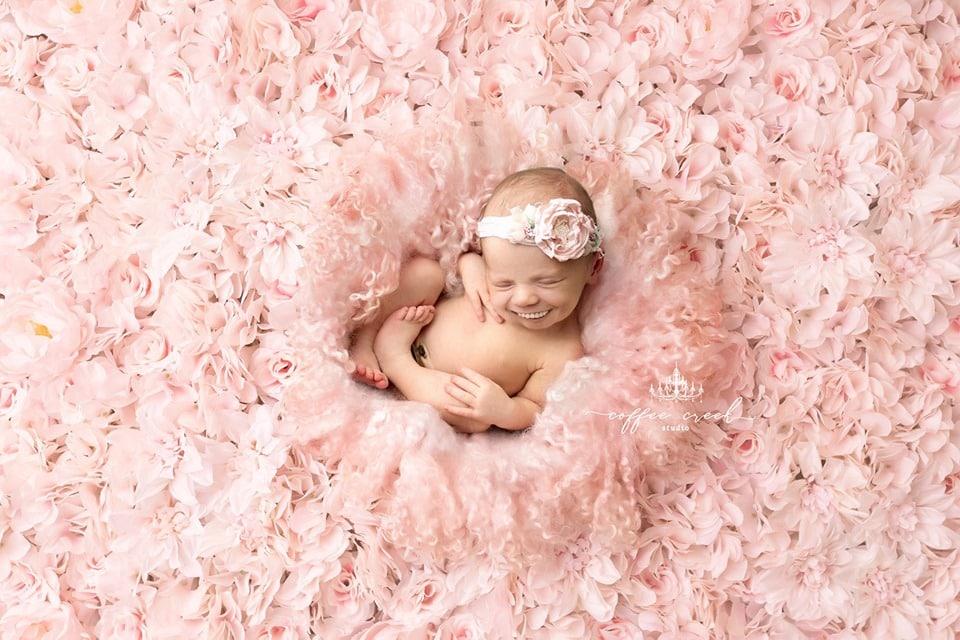 66848441 2648821505137210 1481329611890491392 n - Фотограф из США приклеивает голливудские улыбки к снимкам младенцев. Зрелище, вызывающее мурашки