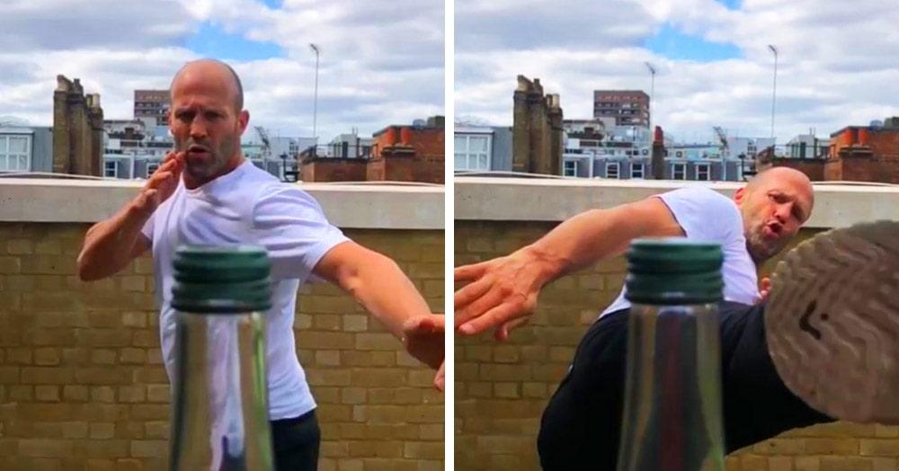 В сети отвинчивают крышки бутылок ударом ноги: фееричный флешмоб, в котором участвуют и знаменитости