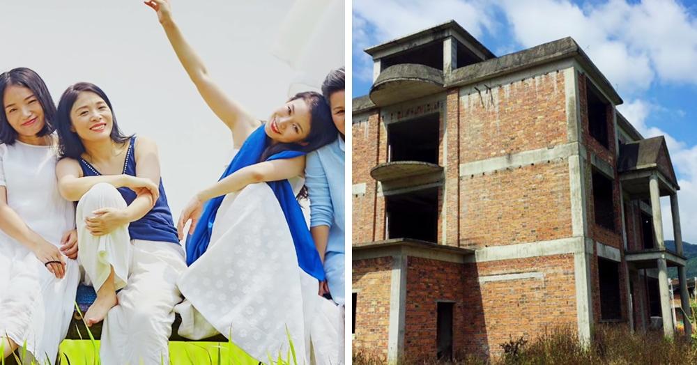 7 подруг купили заброшенный дом, чтобы жить вместе на пенсии, и превратили его в шикарный особняк