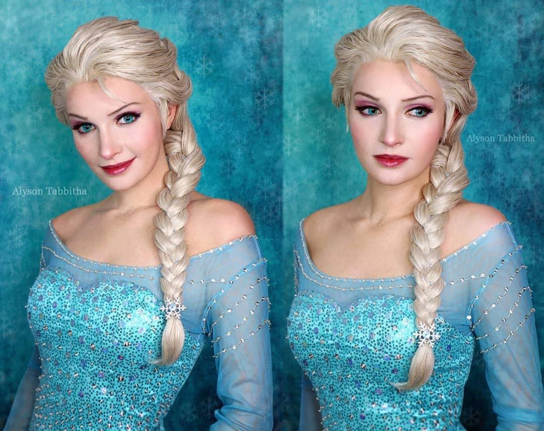 alysontabbitha 46860660 1914336195541943 5915417210367026947 n - Девушка один в один повторяет образы знаменитых персонажей, на которых похожа меньше всего