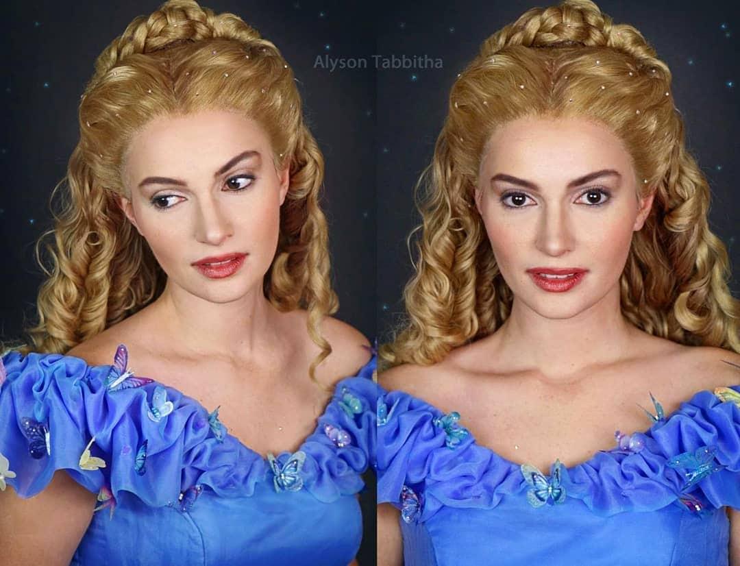alysontabbitha 47586091 378959666195714 3084127500057649042 n - Девушка один в один повторяет образы знаменитых персонажей, на которых похожа меньше всего