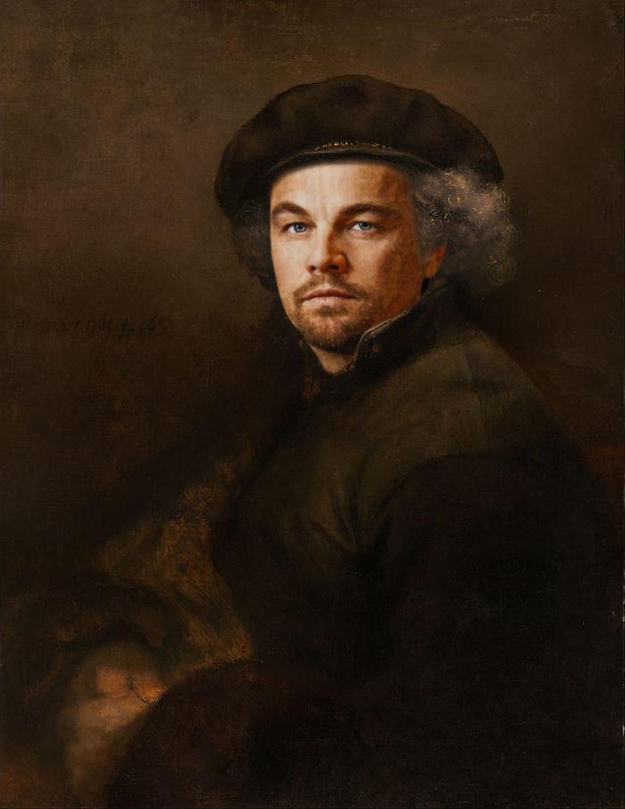 artists imagine what the celebrities in the renaissance would be like 5d19bfaa433cc  700 - 17 картин прошлого, героев которых художники заменили на знаменитостей