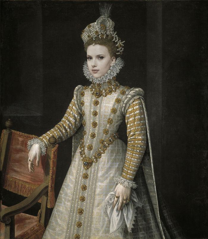 artists imagine what the celebrities in the renaissance would be like 5d19ce49c590f  700 - 17 картин прошлого, героев которых художники заменили на знаменитостей