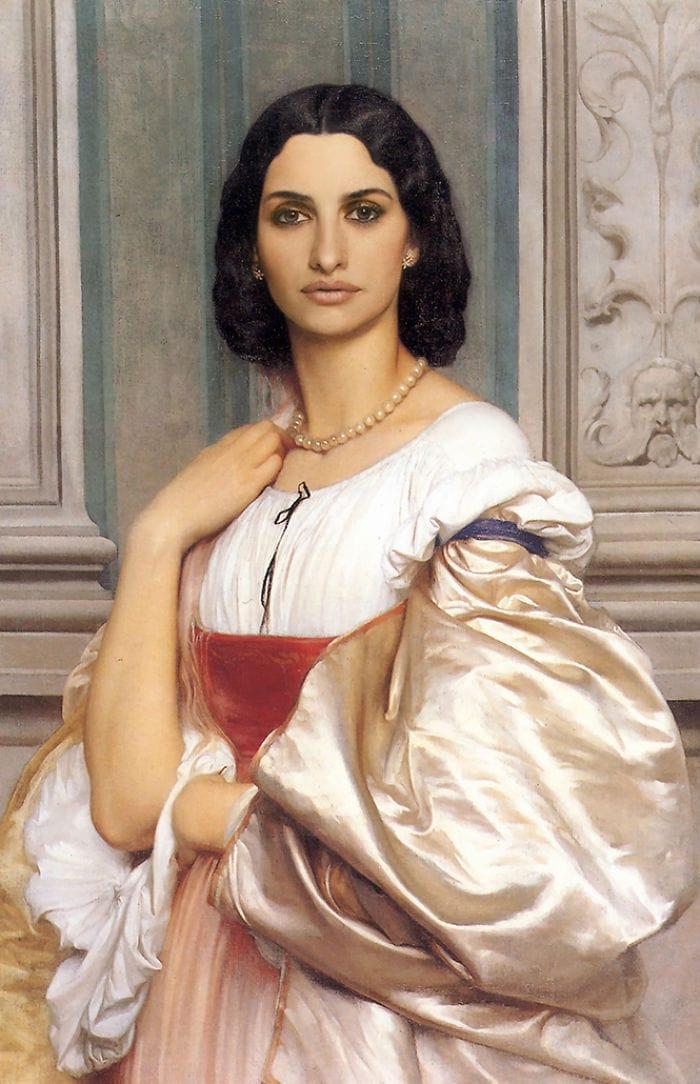 artists imagine what the celebrities in the renaissance would be like 5d19d4d41456a  700 - 17 картин прошлого, героев которых художники заменили на знаменитостей