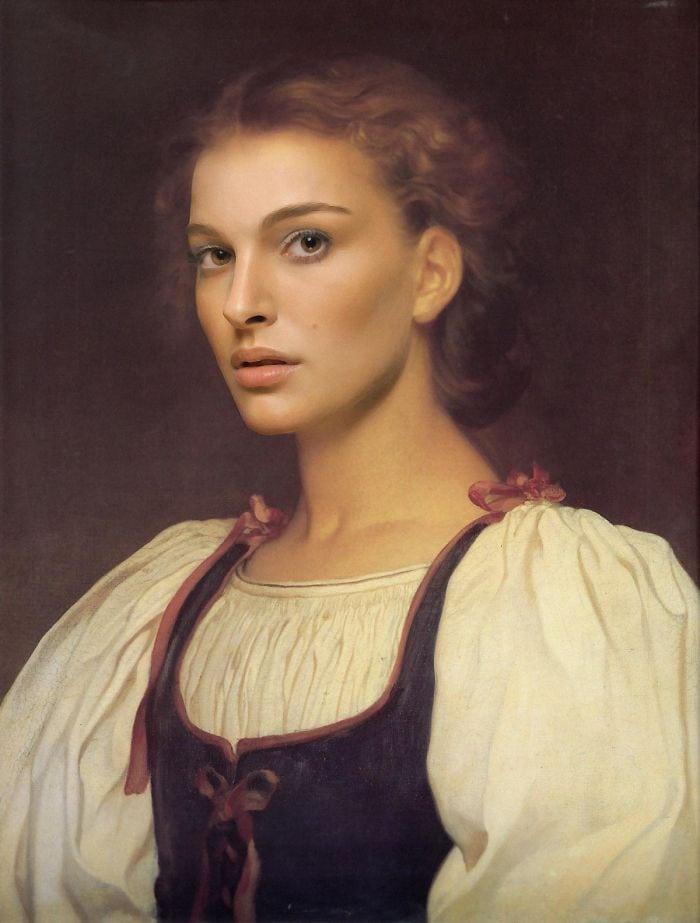artists imagine what the celebrities in the renaissance would be like 5d19d7309bc28  700 - 17 картин прошлого, героев которых художники заменили на знаменитостей