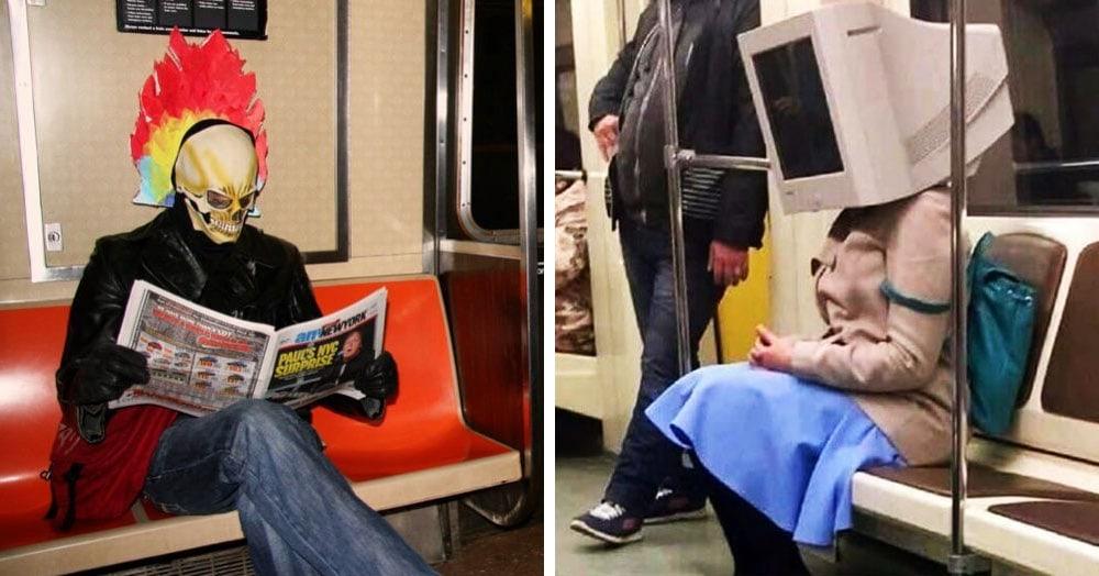 17 доказательств того, что поездка в метро таит в себе много сюрпризов
