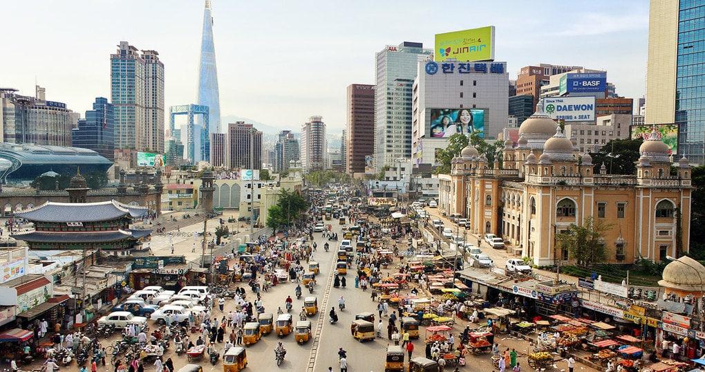 b239f059677683 5a2ad5612756f - Москамбул и Дубариж: художники объединили столицы и показали, как они выглядели бы в реальности