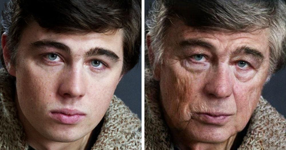 16 примеров того, как выглядели бы в старости знаменитости, которые умерли слишком рано