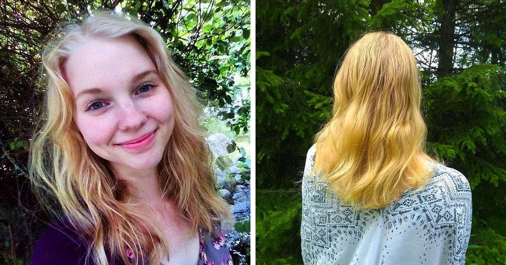 Девушка два года не мыла волосы шампунем, и вот, как это повлияло на её шевелюру