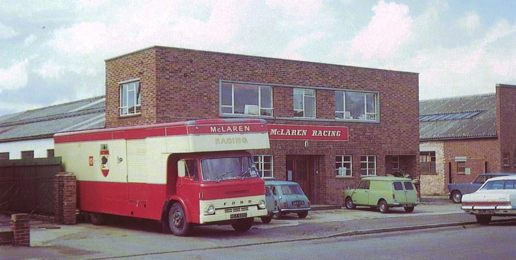 mclaren headquarters at colnbrook - Как изменились здания офисов известных компаний. Фотографии в год основания и сейчас