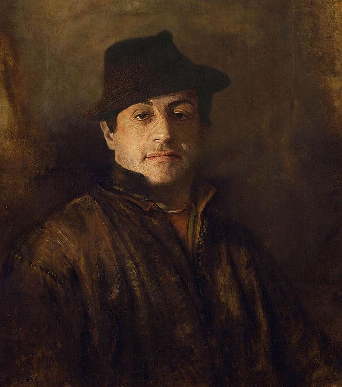 modern renaissance 5d193d8070747  700 - 17 картин прошлого, героев которых художники заменили на знаменитостей