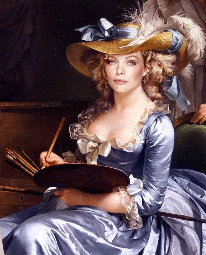modern renaissance 5d1956ce629ad  700 - 17 картин прошлого, героев которых художники заменили на знаменитостей