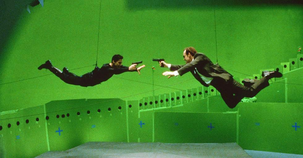 15 закадровых снимков фильма «Матрица» в честь 20-летия картины