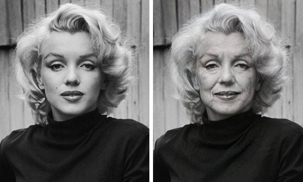 yvfayyapchvrasopr - 16 примеров того, как выглядели бы в старости знаменитости, которые умерли слишком рано