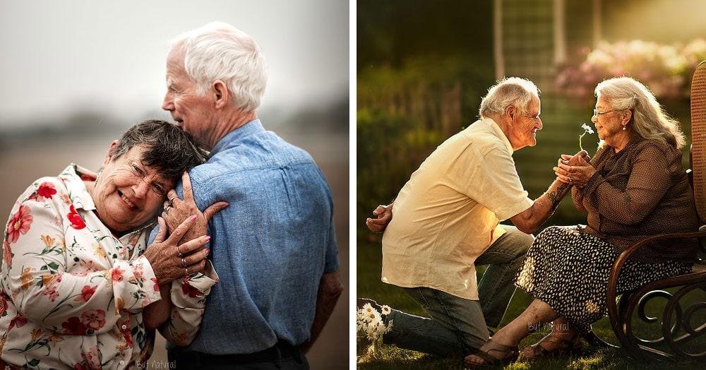 15 трогательных снимков пожилых пар, которые показали тёплые чувства, проверенные временем