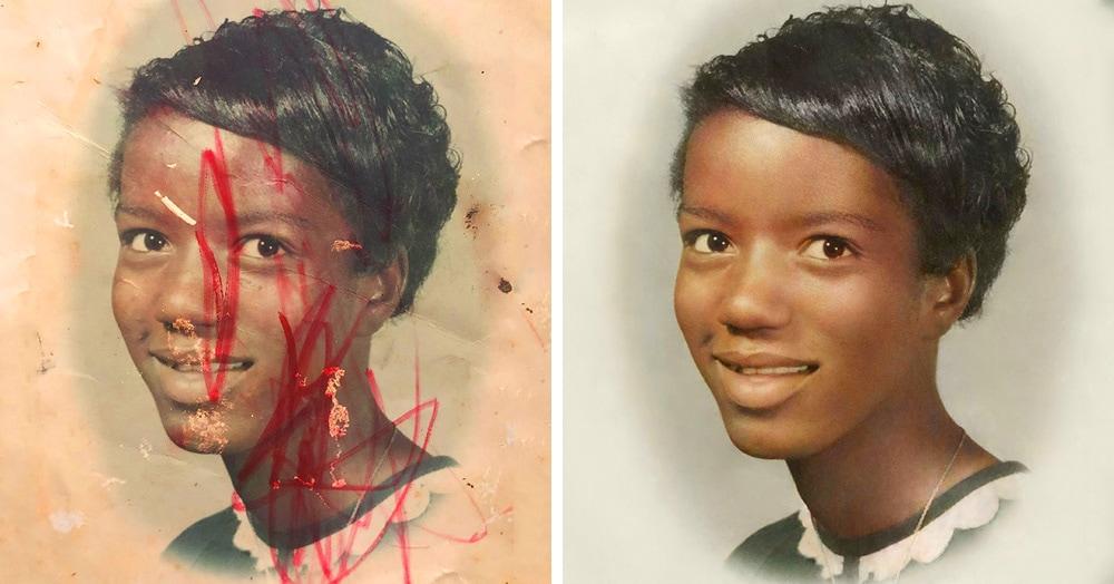10 работ от мастера реставрации, которая восстанавливает даже безнадёжно испорченные снимки